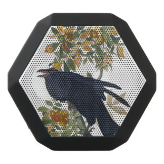 Raven Bird Black Bluetooth Speaker
