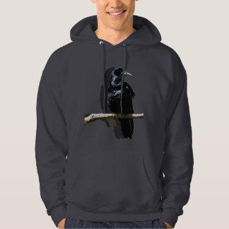 Raven-black Hoodie
