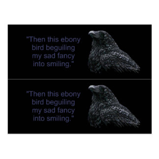 Raven Book markers Postcard