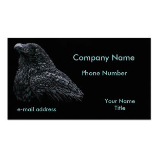 Raven Business Card Template