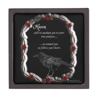 Raven Calling Premium Trinket Box