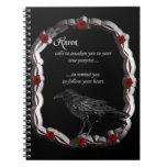 Raven Calling Spiral Notebook