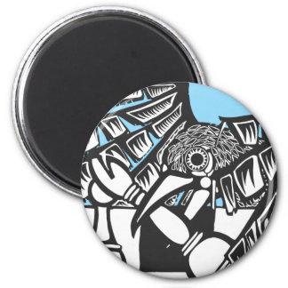 Raven Chess Magnet