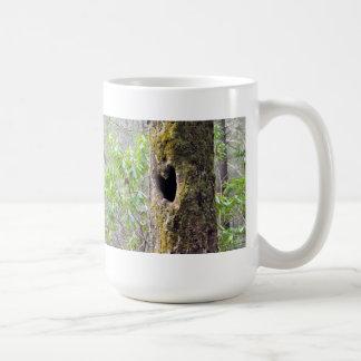 Raven Cliffs Heart Hole Tree Georgia Mug