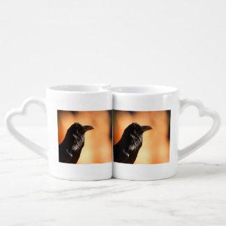 raven coffee mug set