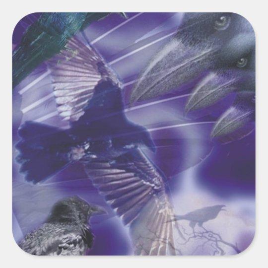 Raven College Sticker