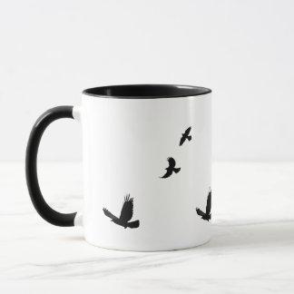 Raven & Common Grackles Birdlovers Gift Mug