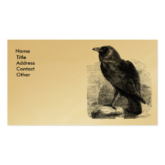 Raven Corvus Business Cards