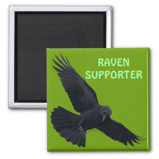 RAVEN & CROW Designs New! 2 Inch Square Magnet