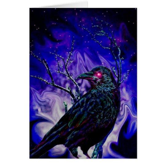 Raven/Crow Greeting Card