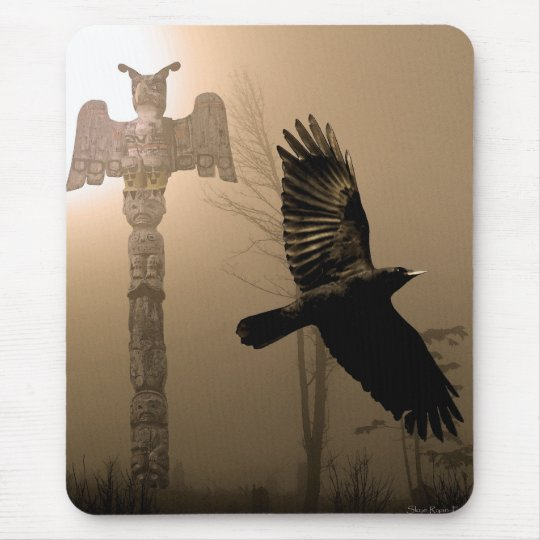 Raven & Crow Series Mouse Pad
