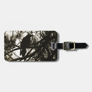Raven Crow Steampunk Tag For Bags