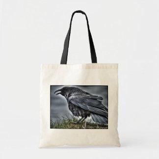 Raven Crow Wildlife Bird Raven-Lover Tote Bag