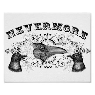 Raven & Crows Never More Poster