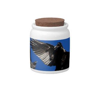 raven dance candy jars