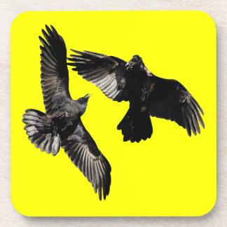 Raven Dance Drink Coaster