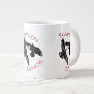 Raven Dance Giant Coffee Mug