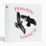 Raven Dance Vinyl Binder