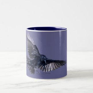 Raven Descending Coffee Mug