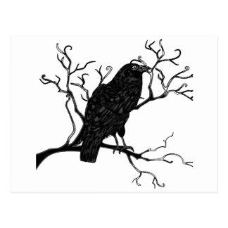Raven Design Postcard