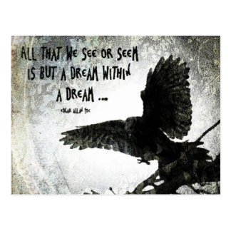 Raven Dream Post Card