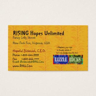 Raven Evenmore - High Energy Golden Harvest Business Card