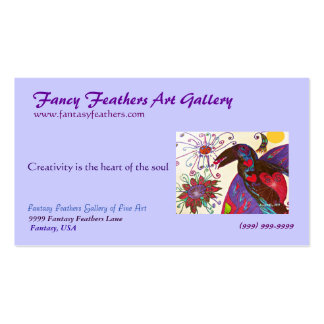 Raven Fantasy Art Gallery business card