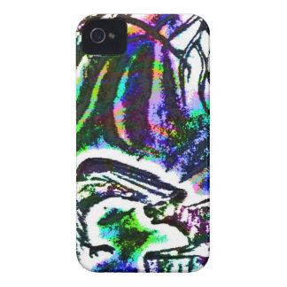 Raven feeding a Rat On a Cold Winter Day iPhone 4 Cover