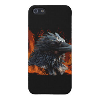 Raven Flames iPhone Case iPhone 5 Cases