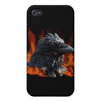 Raven Flames iPhone Case iPhone 4 Case