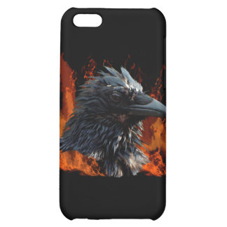 Raven Flames iPhone Case iPhone 5C Cases