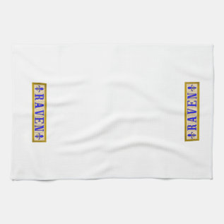 Raven Fleur De Lis Kitchen Towels at Zazzle