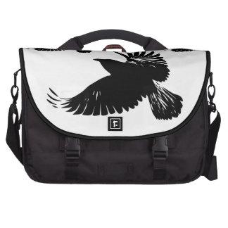 Raven Flight - flying wings dreams Laptop bag