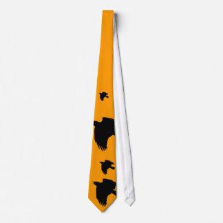 Raven Flight Neck Tie