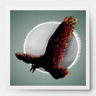 Raven Flying At Midnight Envelope