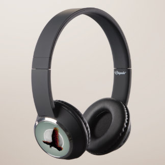 Raven Flying At Midnight Headphones