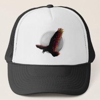 Raven Flying At Midnight Trucker Hat