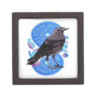 Raven French Tarot Box Premium Trinket Box