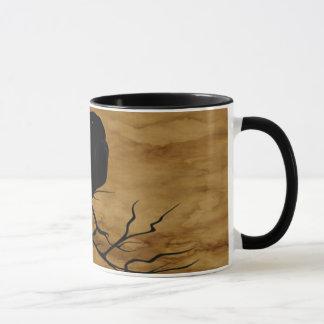 Raven Ghost Mug