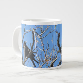 Raven Giant Coffee Mug