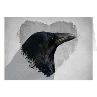 Raven Glamour Shot Card