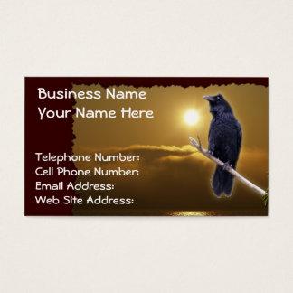 RAVEN & GOLDEN SUNLIGHT Business Cards