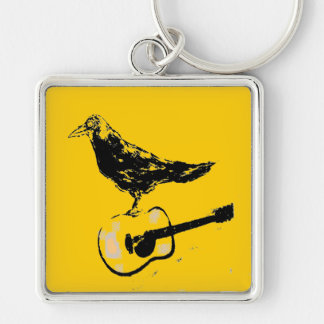 raven guitar song(guitar colour) keychain