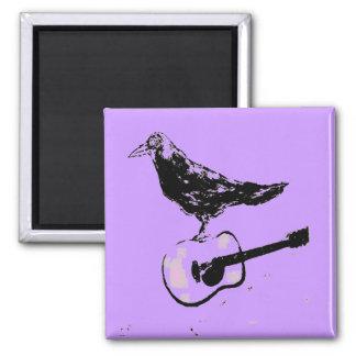 raven guitar song magnet