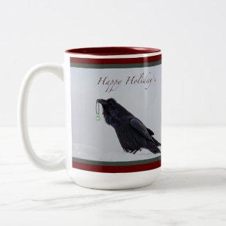 Raven Happy Holiday's Mug