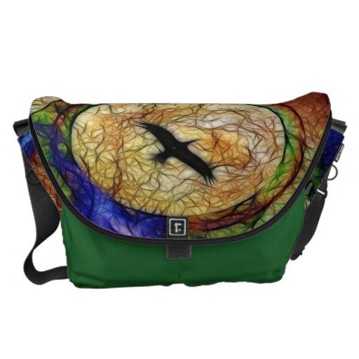 Raven Hawk Messenger Bags