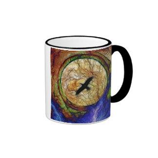 Raven Hawk Ringer Mug