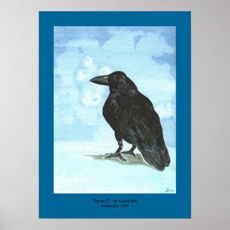 """Raven II "" Print"