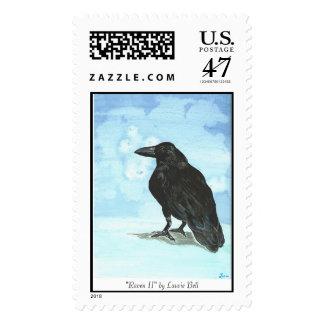 """Raven II"" stamp"