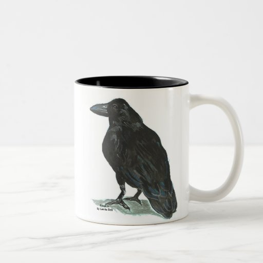 Raven II Two-Tone Coffee Mug
